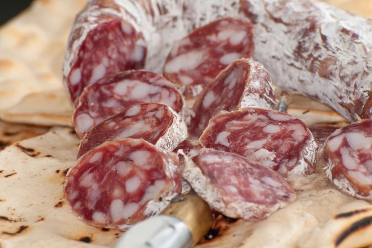 Italian Salumi of Piacenza.
