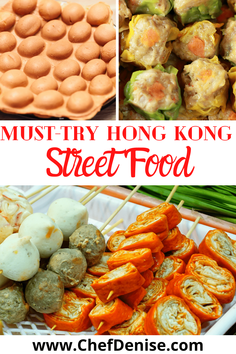 Pin for the must-try street food in Hong Kong.