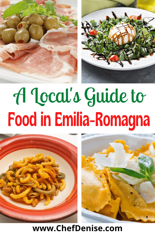 Pin for Emilia-Romagna food.