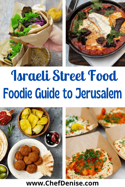 Pin for Israeli street food in Jerusalem