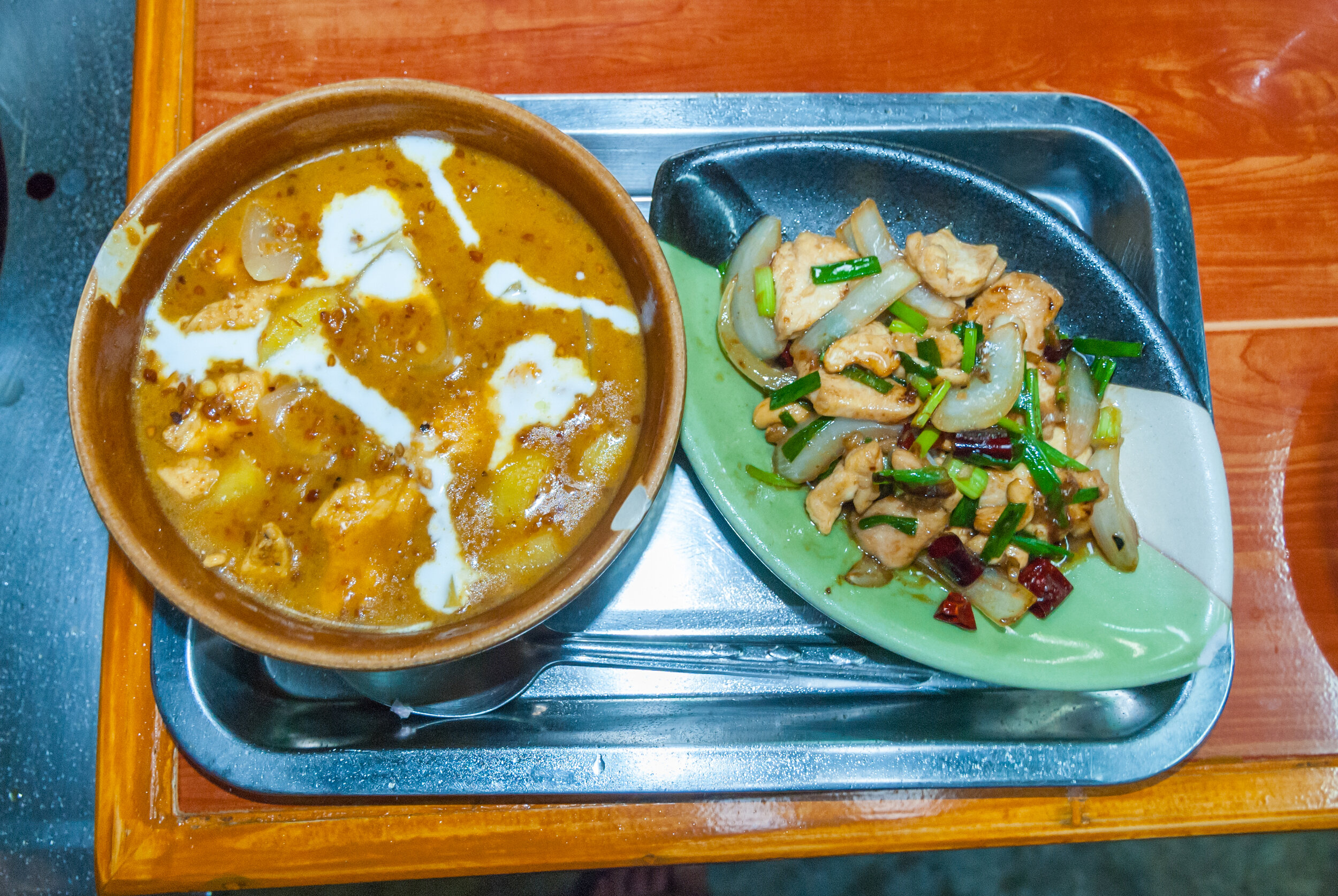 One of the most popular Thai dishes in Bangkok cuisine is Massaman Curry