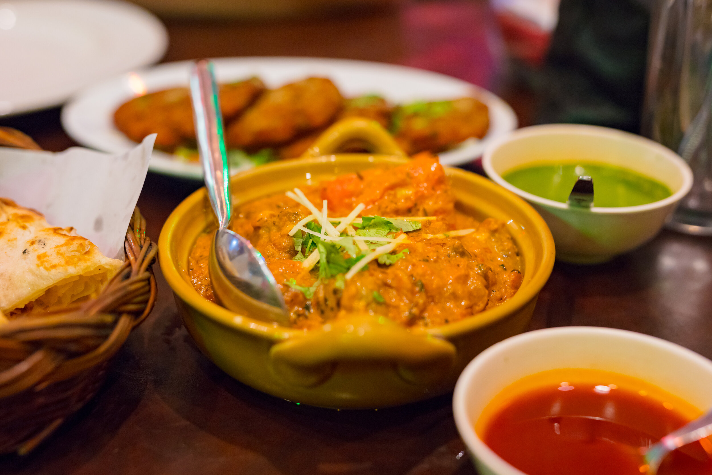 Thai curries, some of the best food in Bangkok