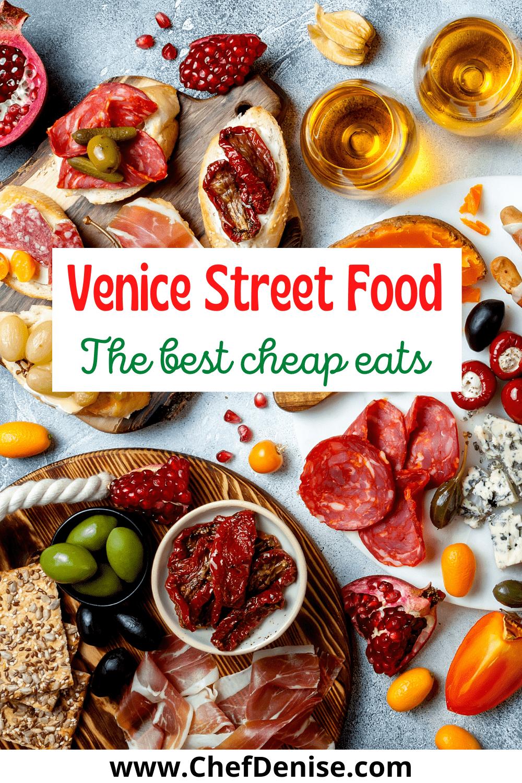 Pin for Venice cheap eats