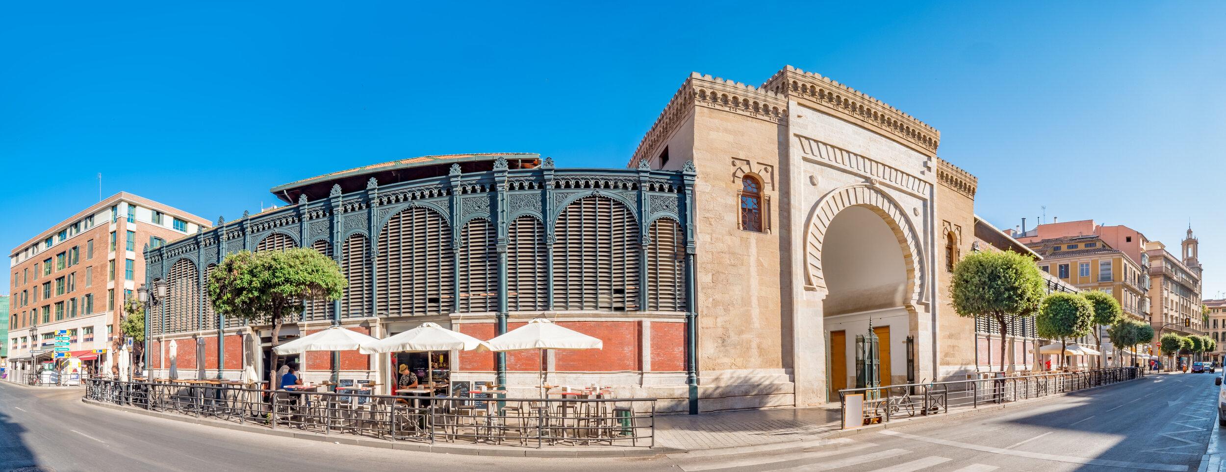 The best Malaga market, Mercado de Atarazanas