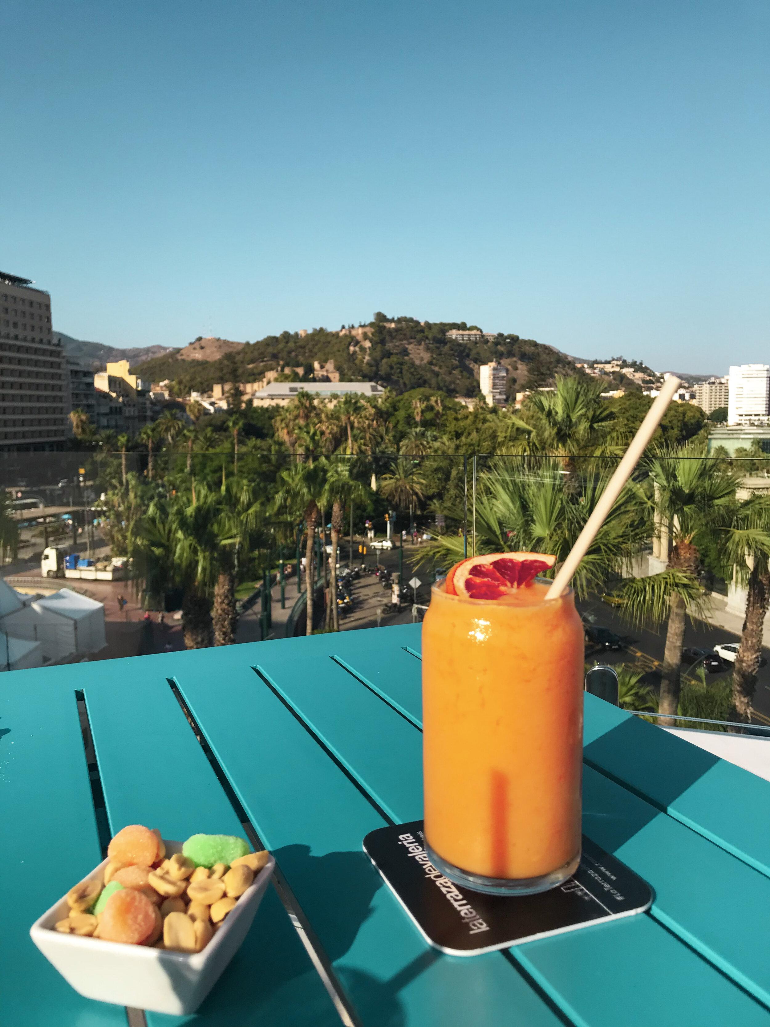 Malaga Rooftop bar