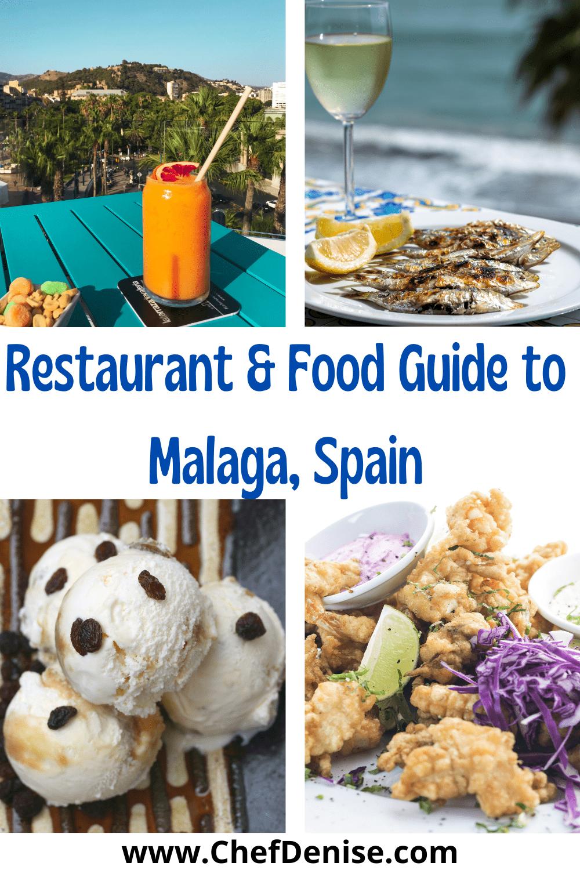 Pin for Malaga food & Malaga restaurants
