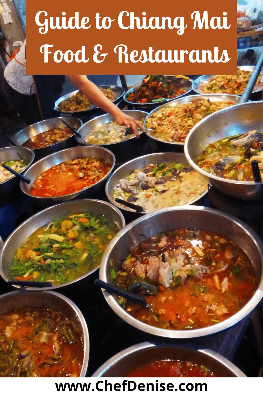 Pin for Chiang Mai food & restaurants