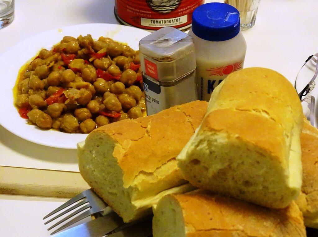 Popular food in Athens, Revithia