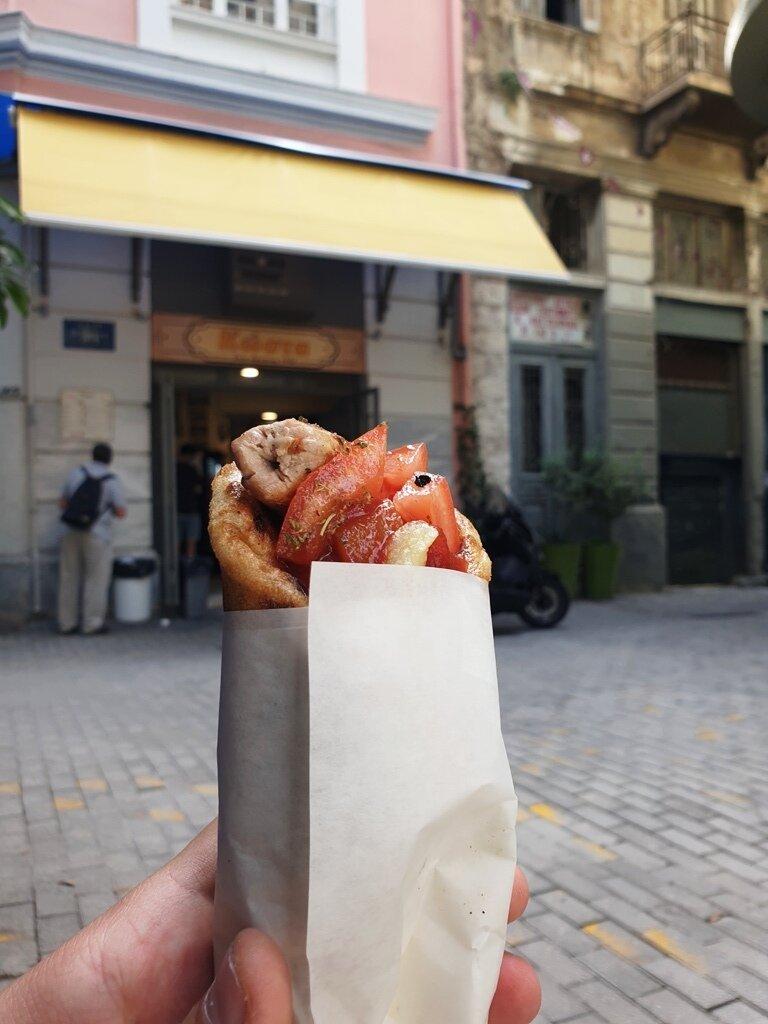 Greek street food, Souvlaki