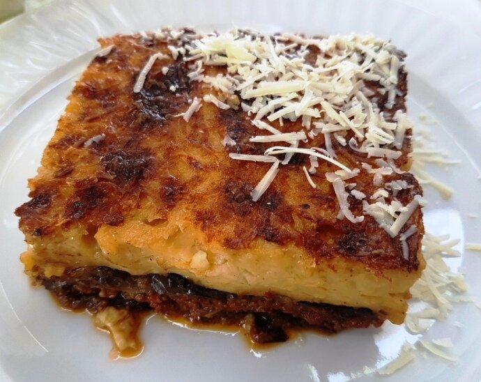 Famous food in Athens, Moussaka