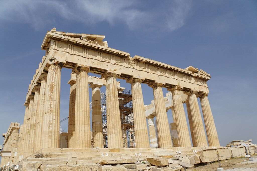 The Acropolis is not to be missed while exploring the history and food in Athens.