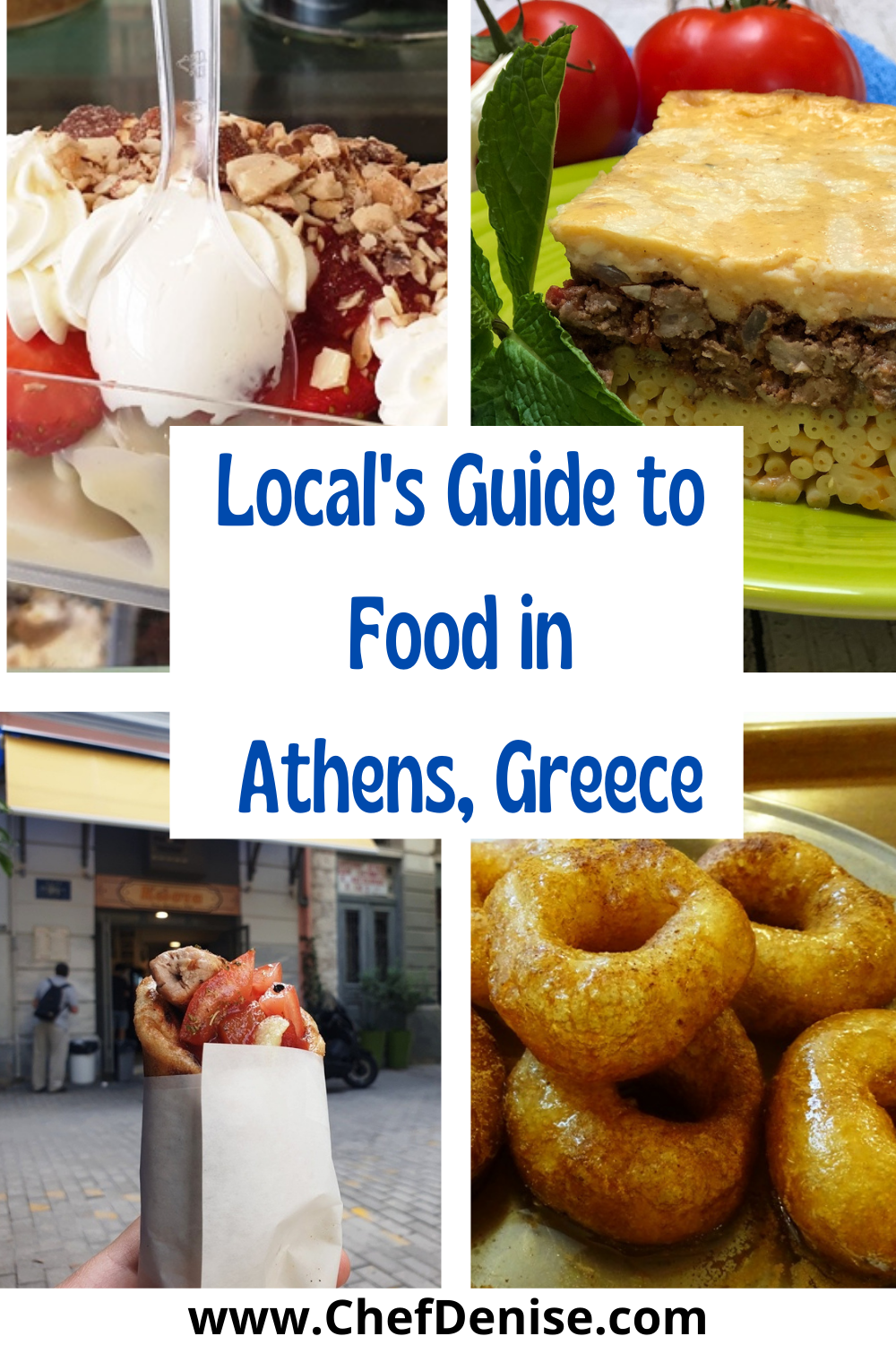 Pin for Local's Guide to Food in Athens, Greece