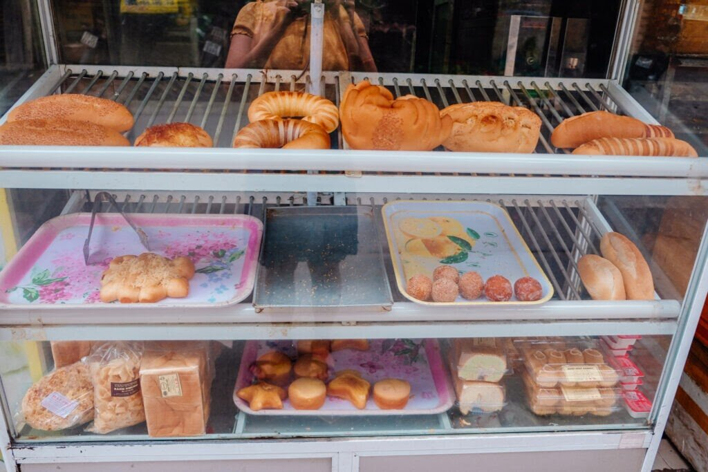 A selection of popular Vietnamese pastries