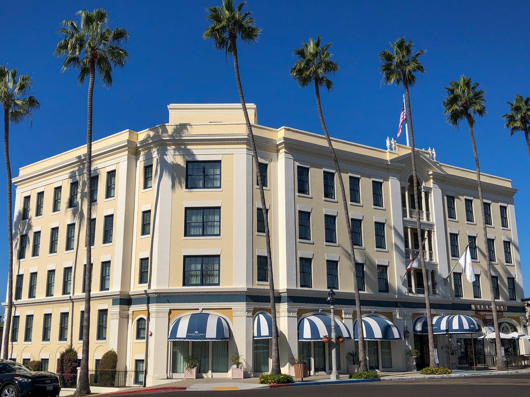 The best hotel in La Jolla for foodies: Grande Colonial La Jolla Hotel
