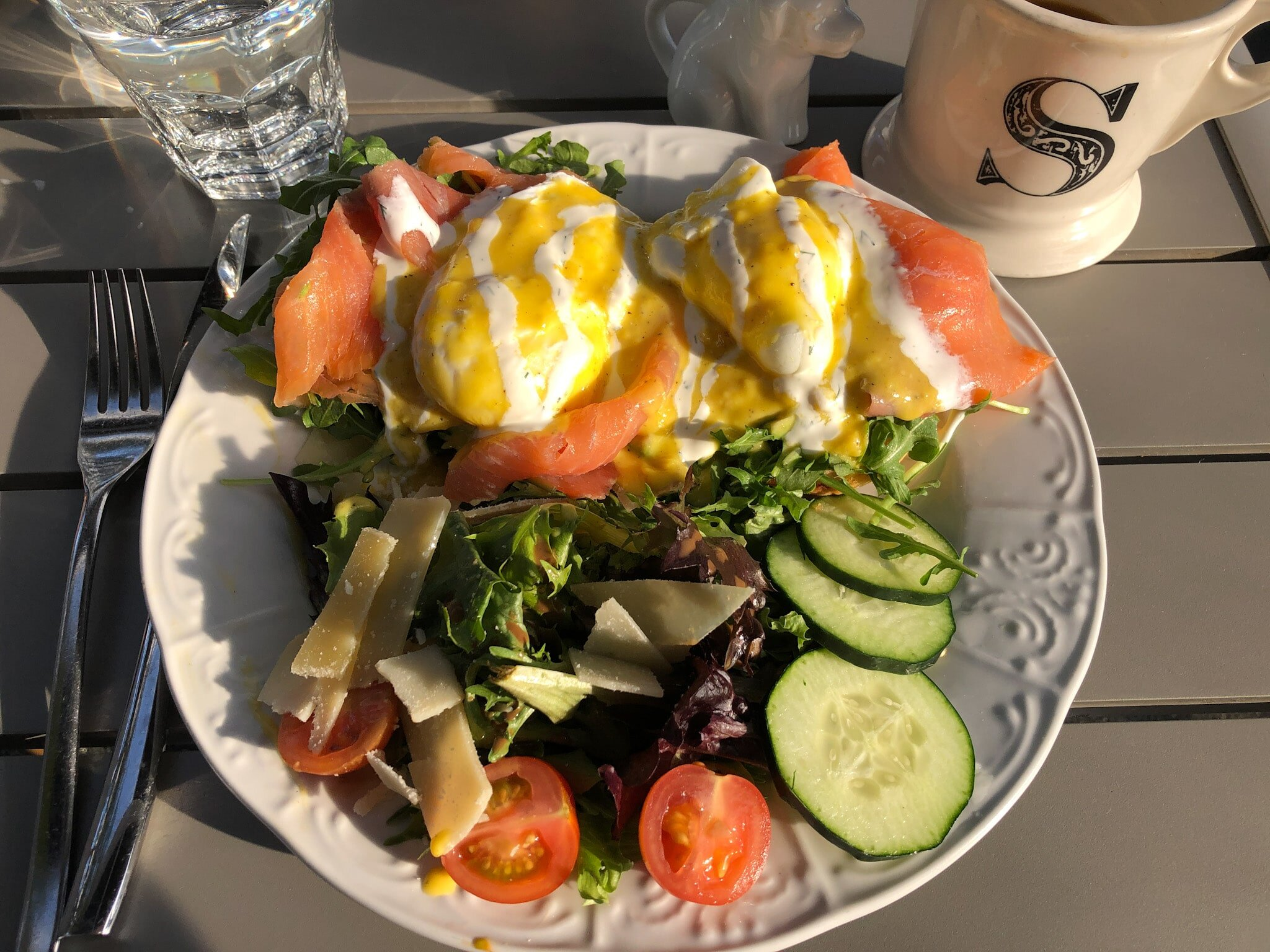 Breakfast in La Jolla at Sugar and Scribe