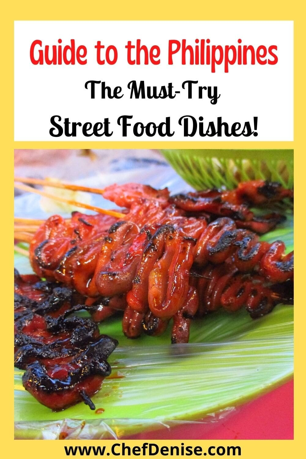 Pin for Guide to the Philippines food