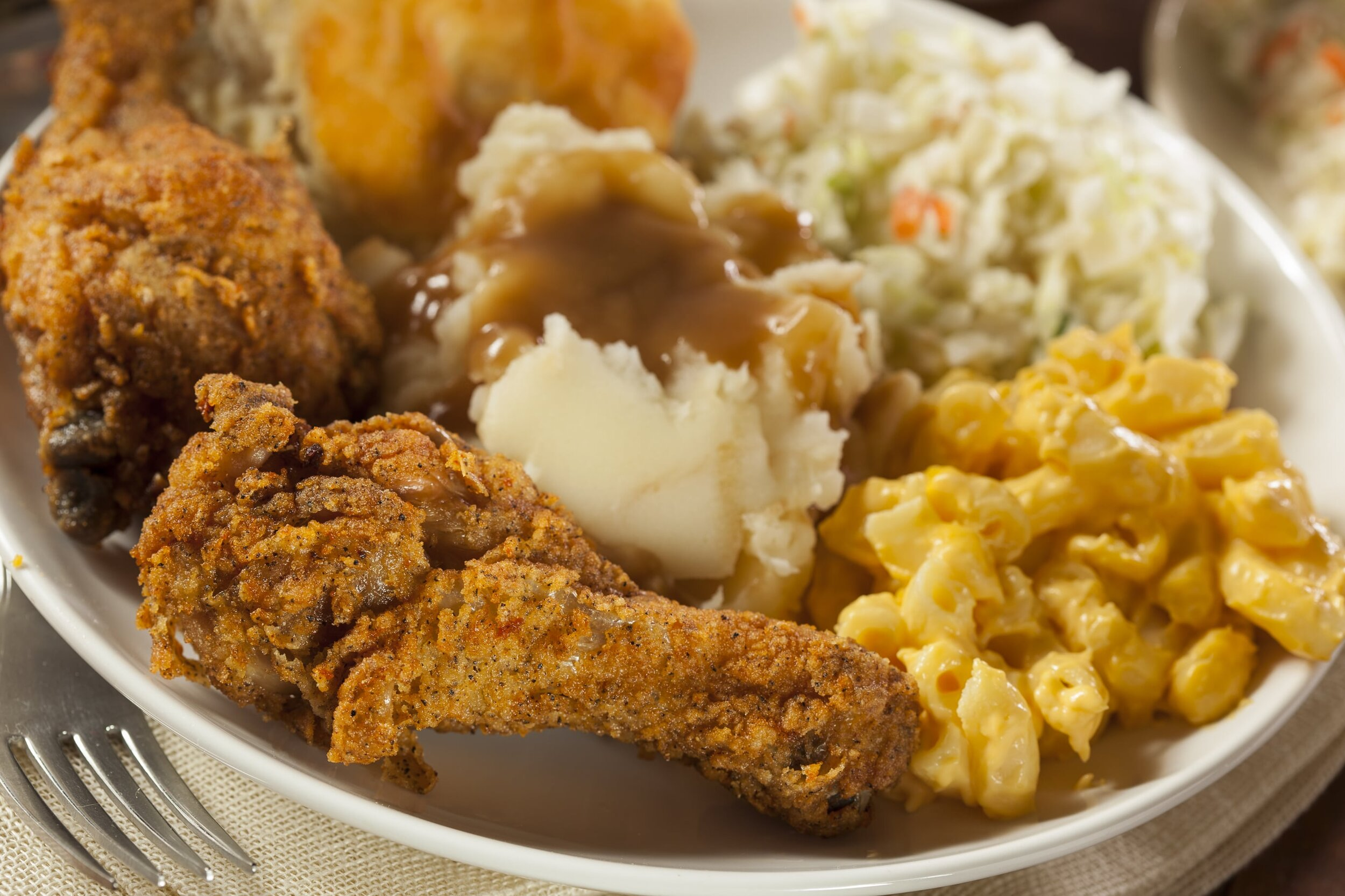 Fried chicken is a local's favorite in restaurants in Chapel Hill