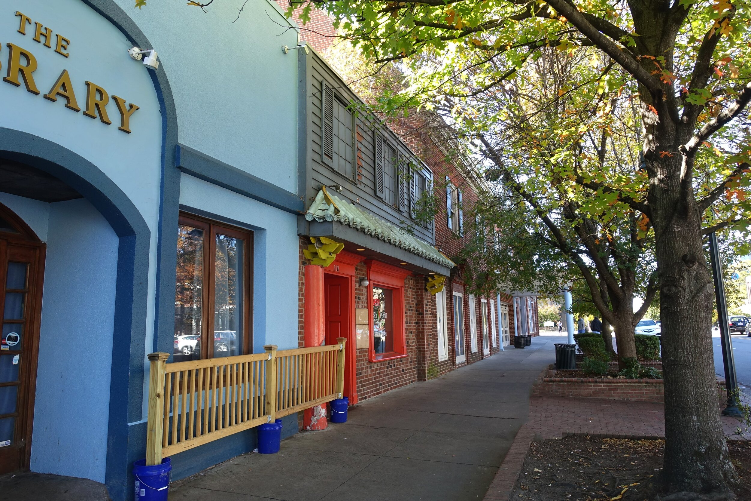 Franklin Street, Chapel Hill, home of some great restaurants