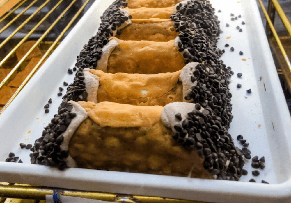 One of the best cannoli in Boston is at Mike's Pastry in the North End