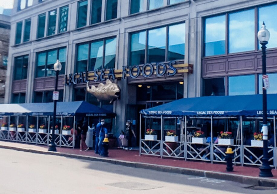 One of the signature Boston restaurants, Legal Seafood