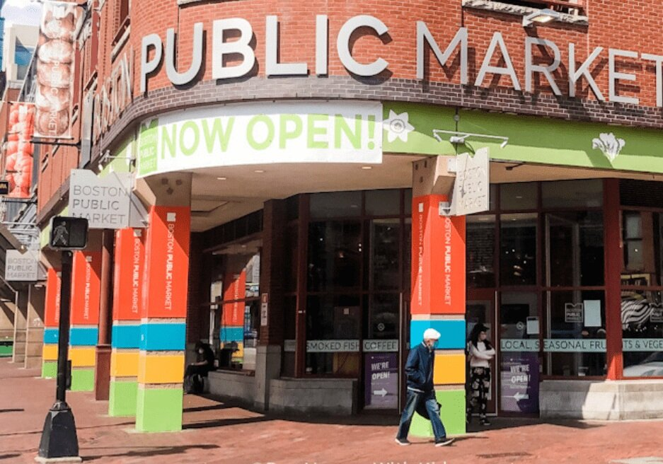 Boston's Public Market is a must-visit destination for foodies.