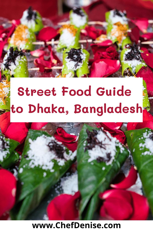 Pin for Street Food in Dhaka