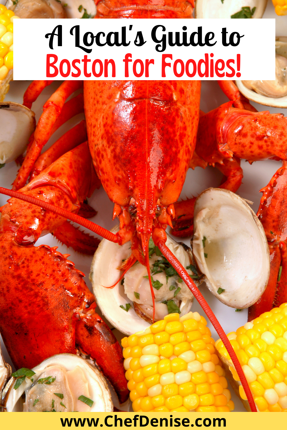 Pin for Guide to Boston for Foodies