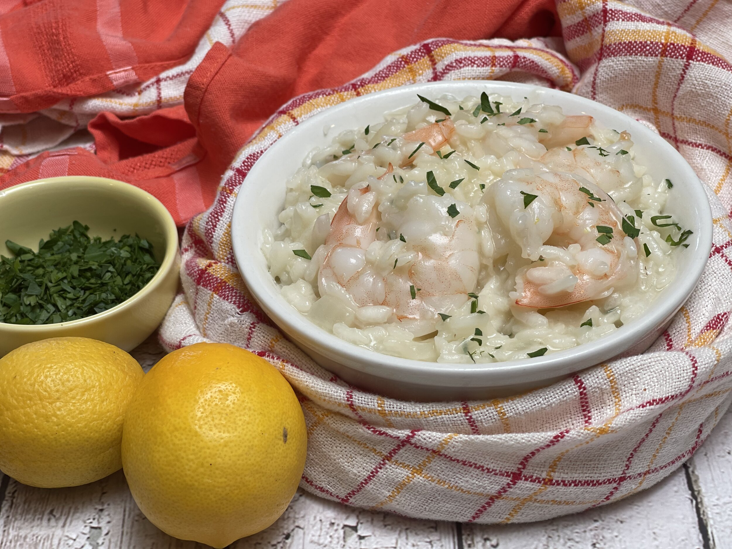 Venetian Risotto with Prawns