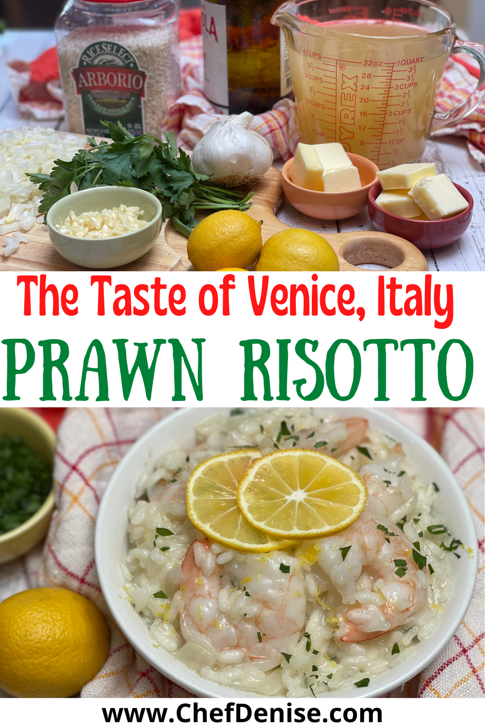 Pin for Prawn Risotto