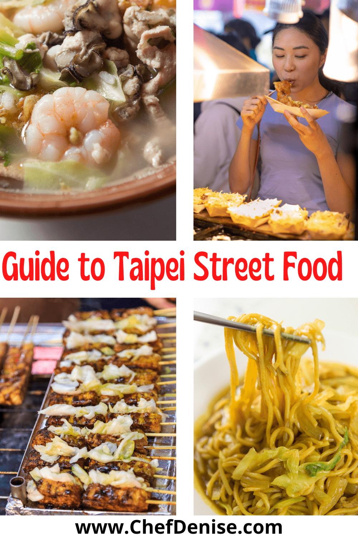 Pin for Street Foods in Taipei, Taiwan