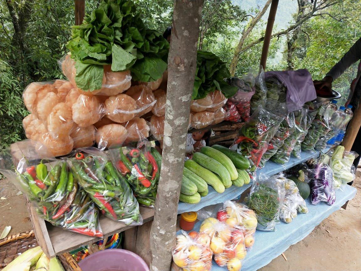Organic foods in Bhutan are common.