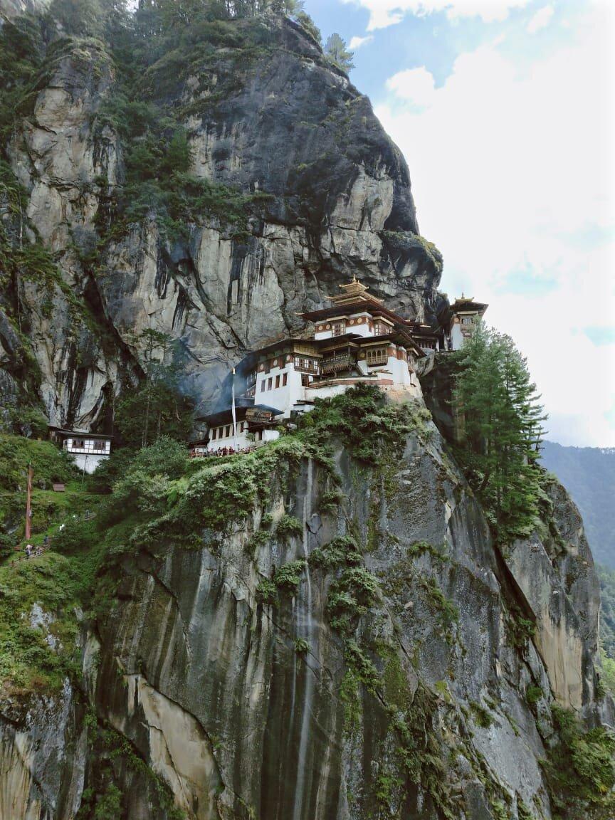 Tigers Nest Monastery, Paro Taktsang, is a must when visiting Paro, Bhutan