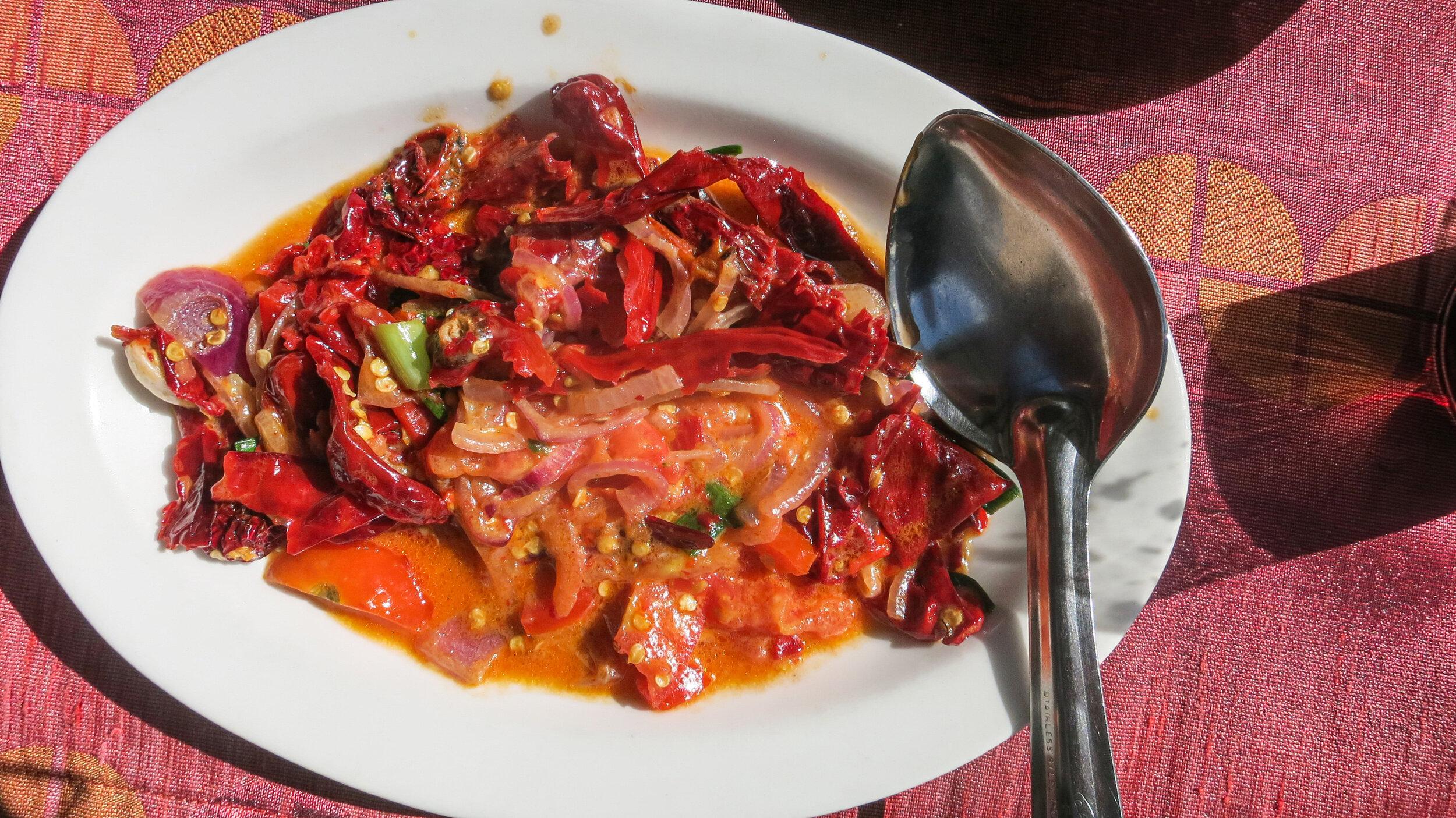 The Bhutan National Dish, Ema Datshi