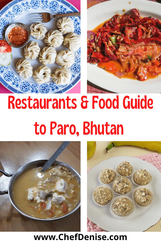 Pin for foods in Bhutan