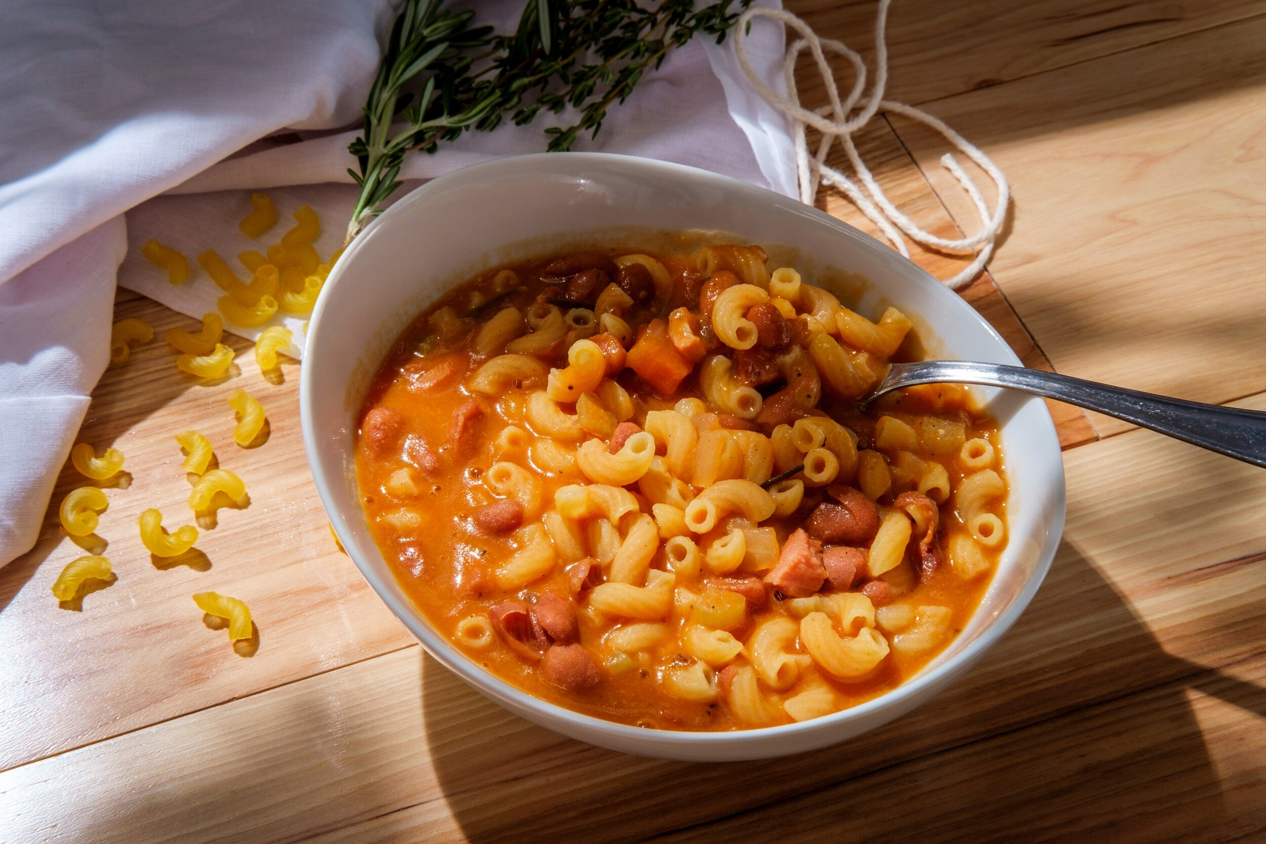 Pasta e Fagioli is most often served as an Italian vegan soup, but ask first!