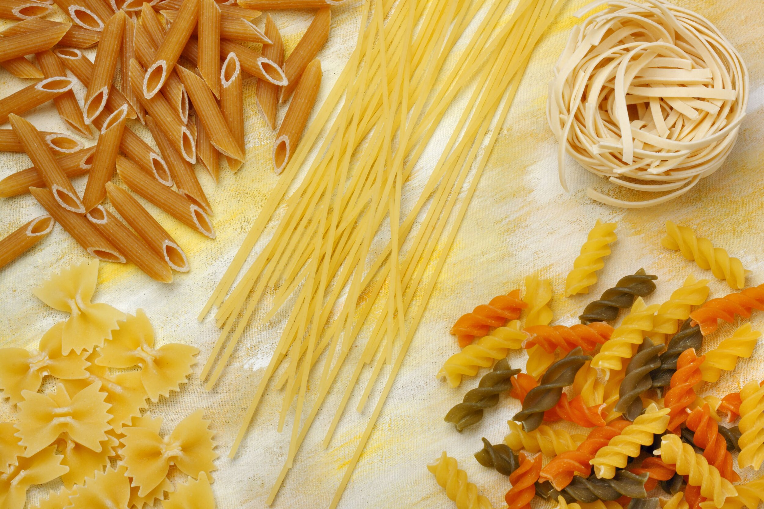 Dried pastas in Italy are most often vegan.