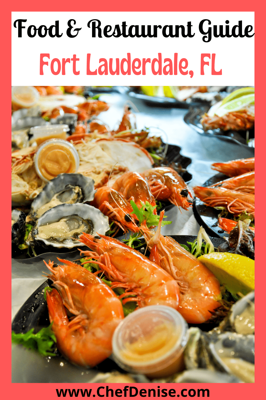 Pin for Fort Lauderdale restaurant guide