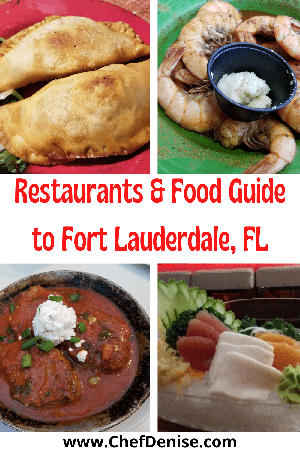 Pin for food in Fort Lauderdale
