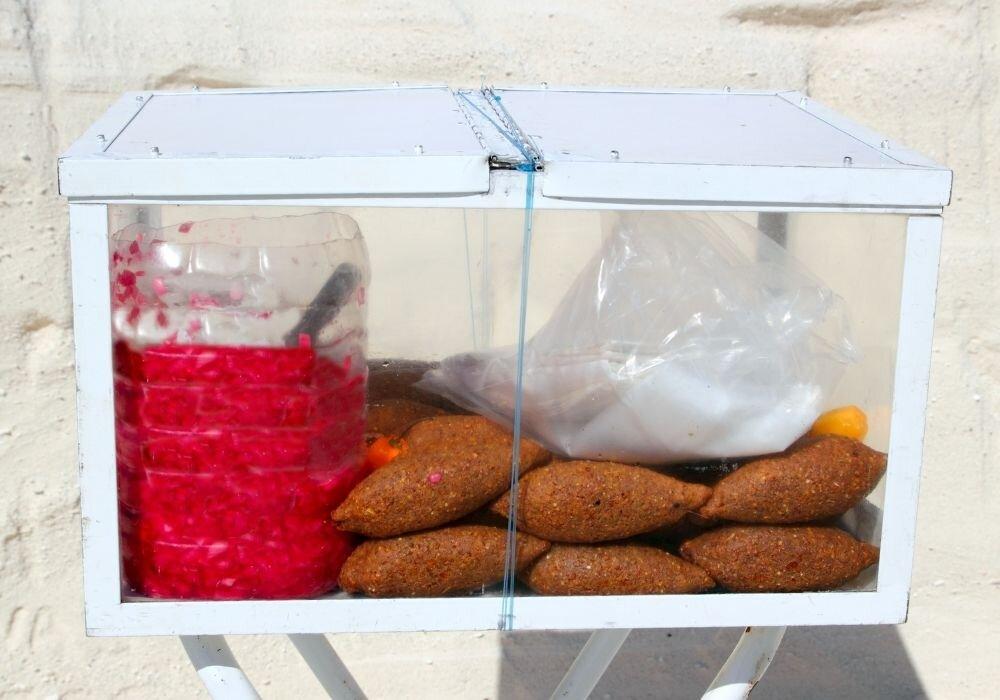 Kibis as a Yucatan street food
