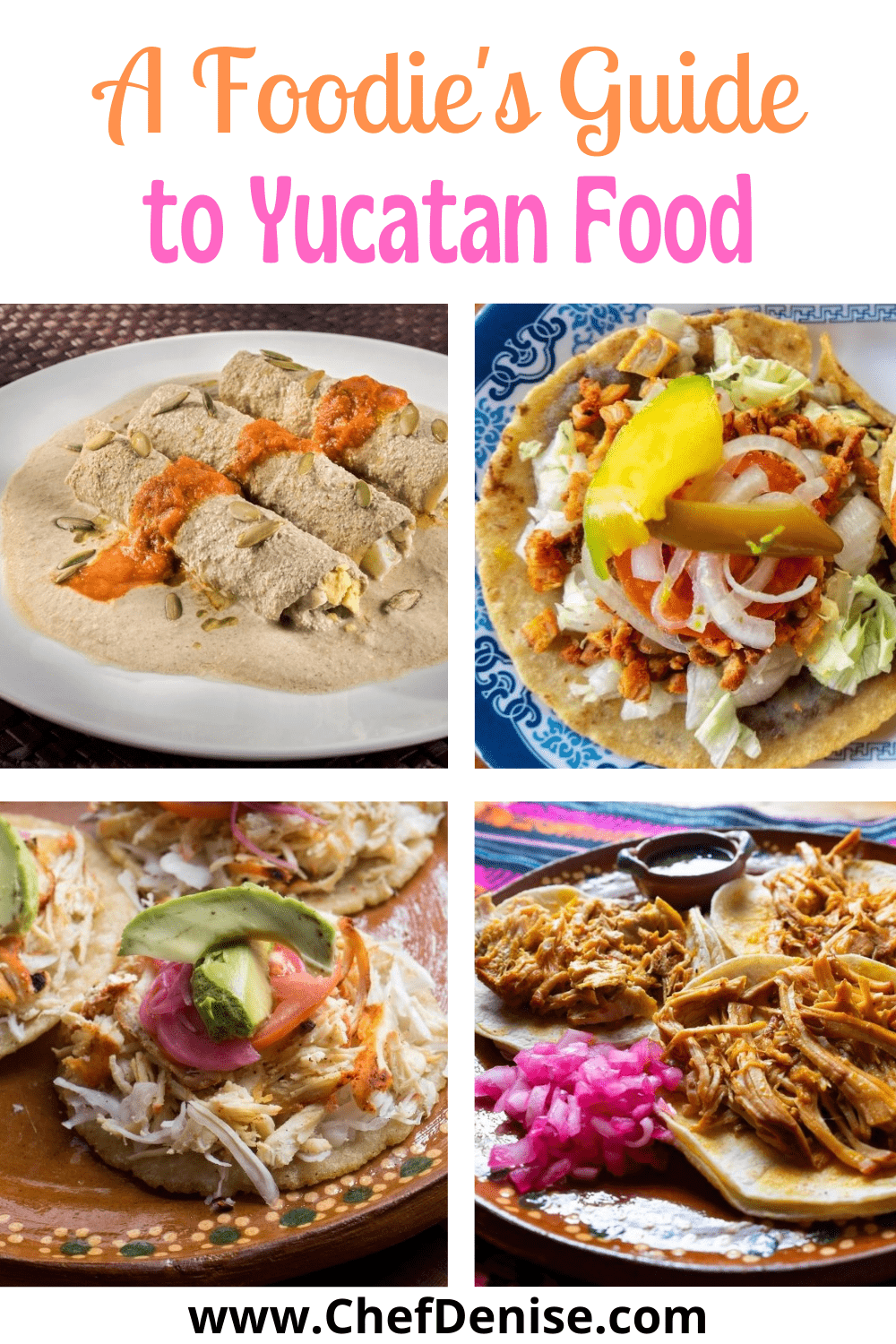 Pin for a Foodie's Guide to Yucatan Foods