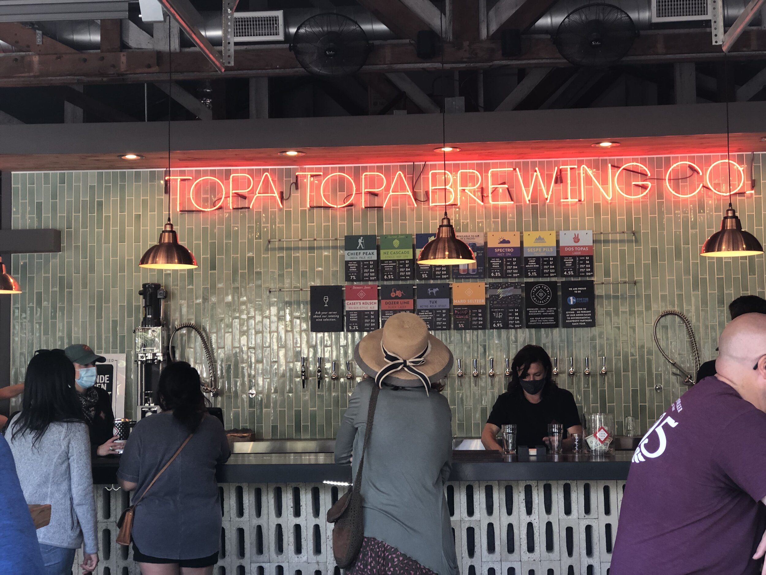 Head to Topa Topa Brewing Co. and Little Sama Ojai for the best Ojai food and beer combo