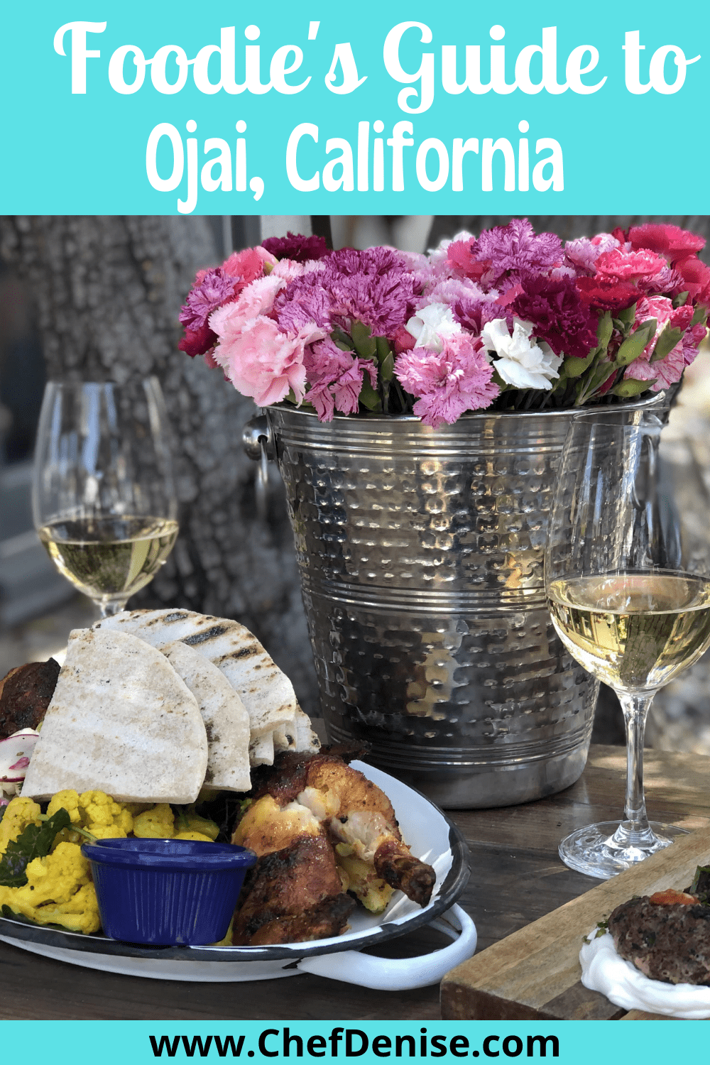 Pin for foodie's guide to Ojai, California