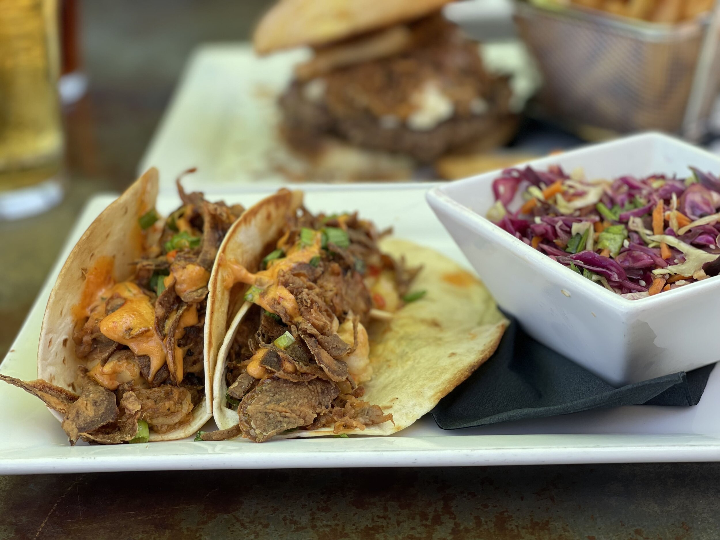 Piggy Tacos at our pick for best casual food in New Braunfels