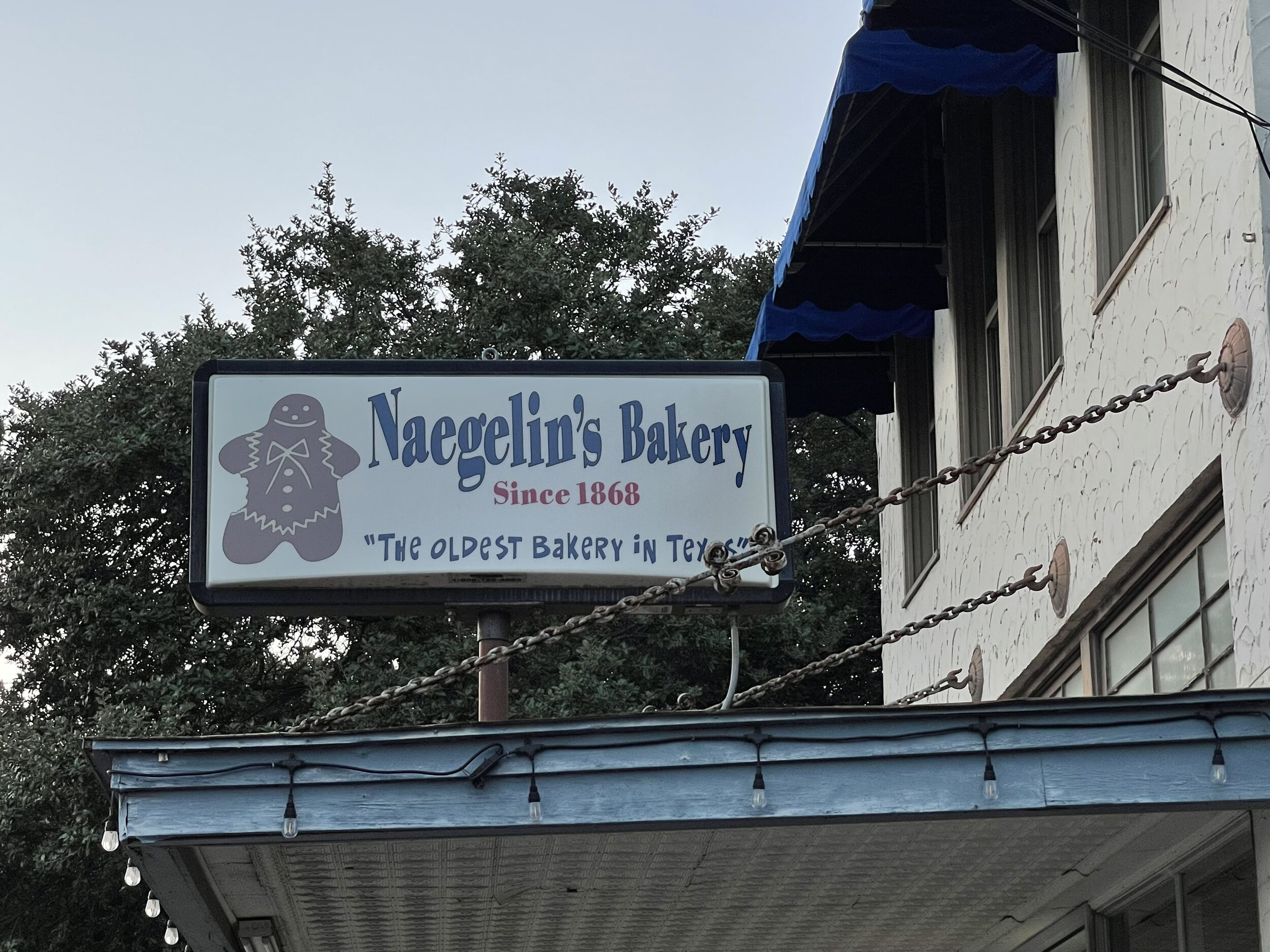 The oldest bakery in Texas, Naegelin's Bakery
