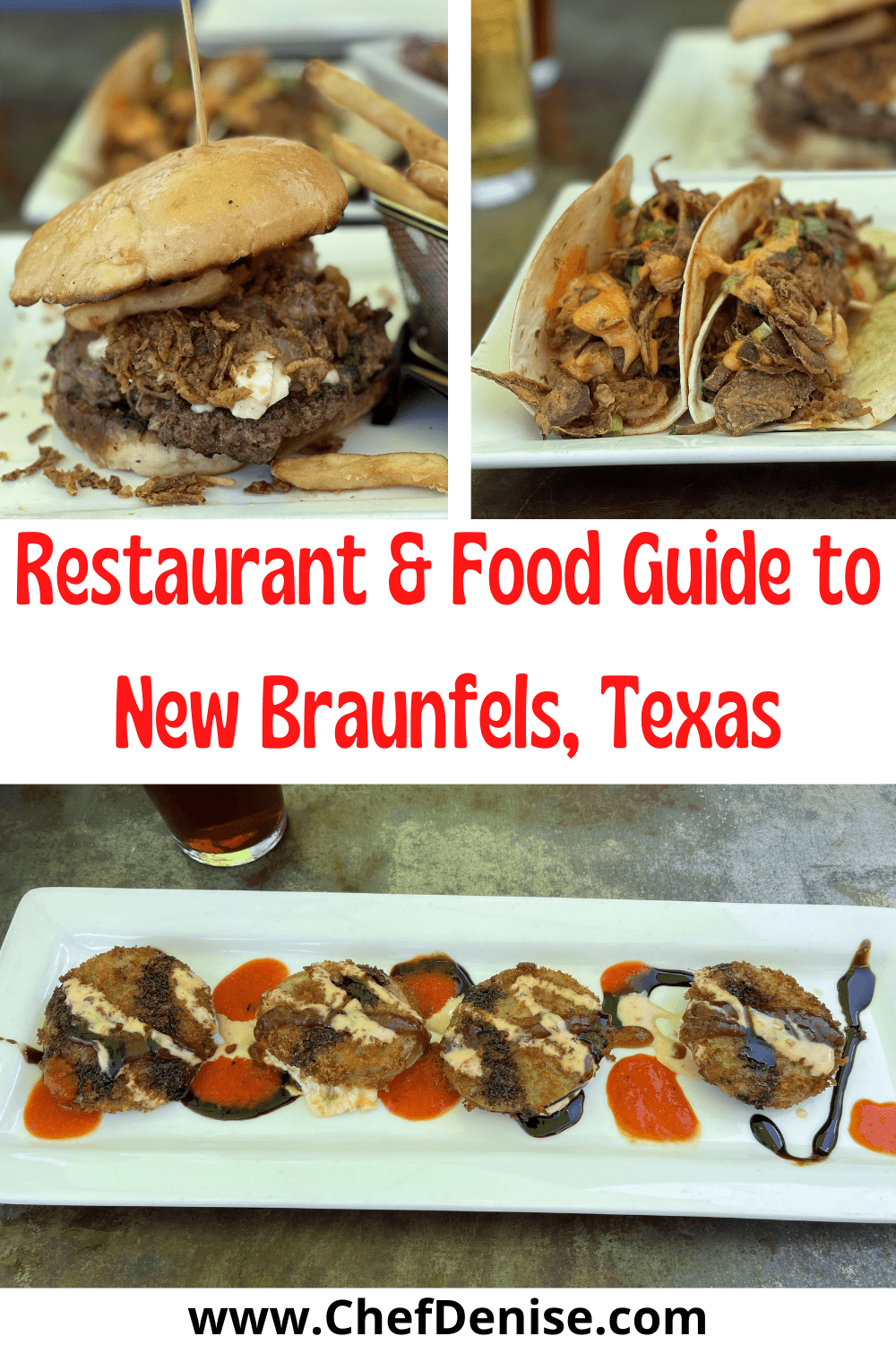 Pin for Best Food in New Braunfels, TX