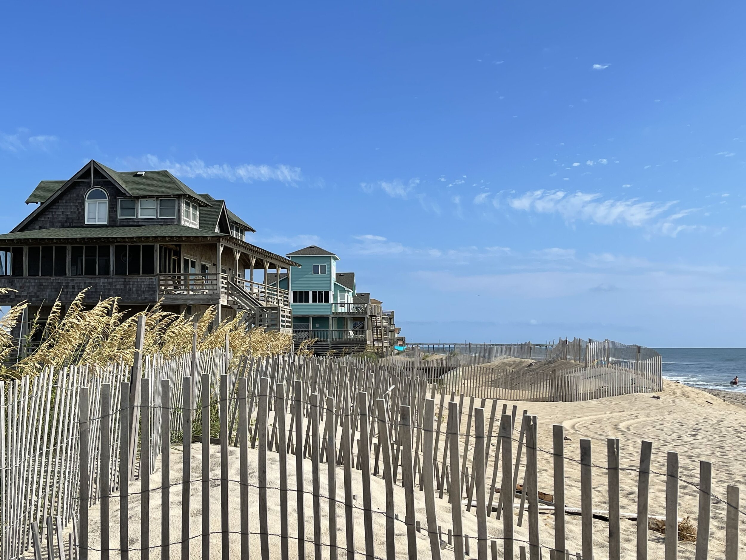 Oceanfront Outer Banks vacation rentals