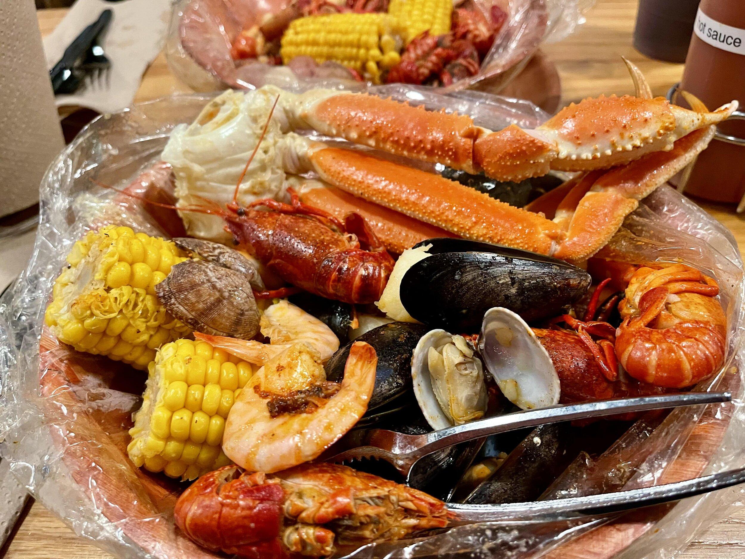Lunch at the Savannah Seafood Shack
