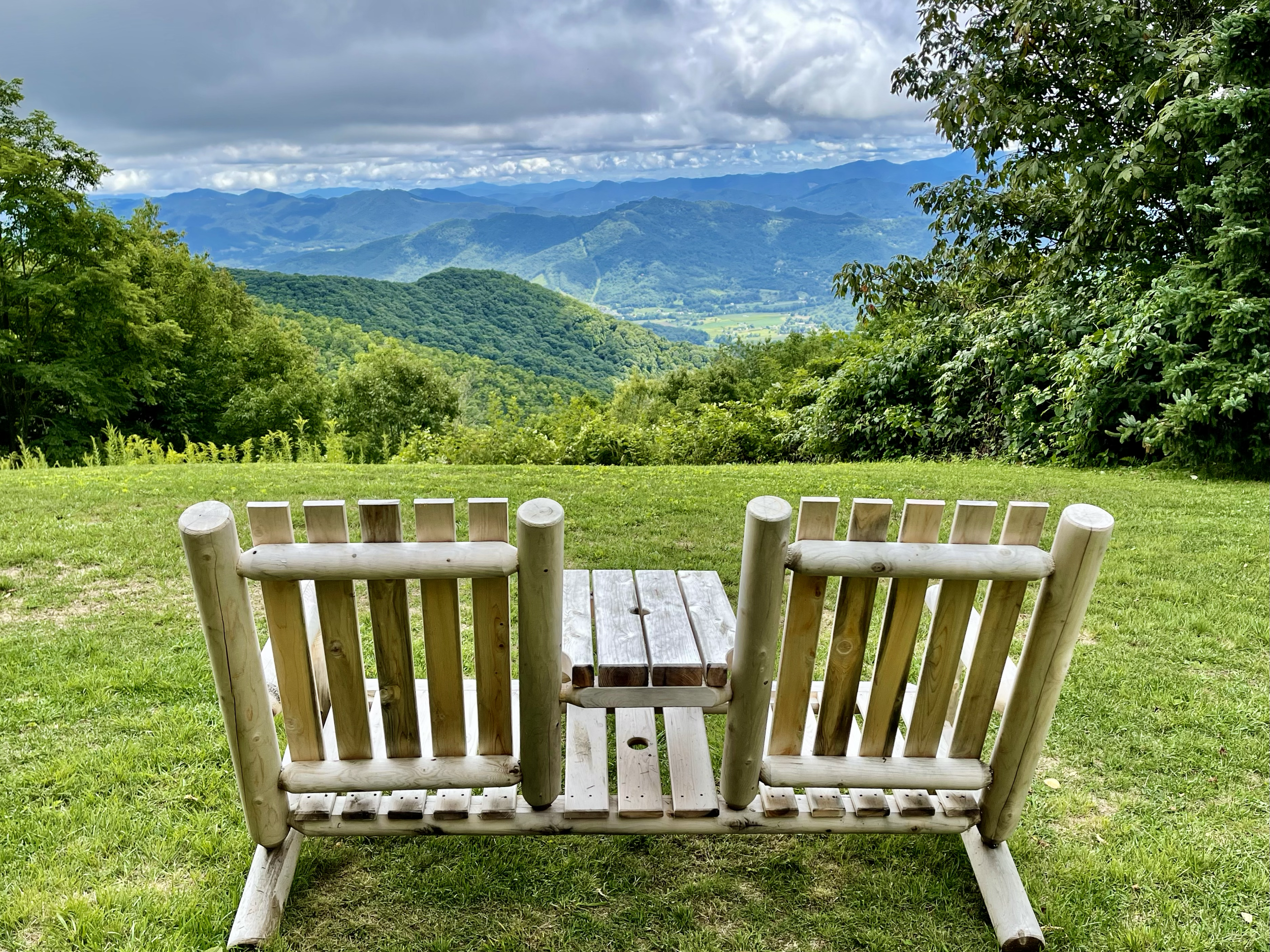 Views of the Great Smoky Mountains from The Swag