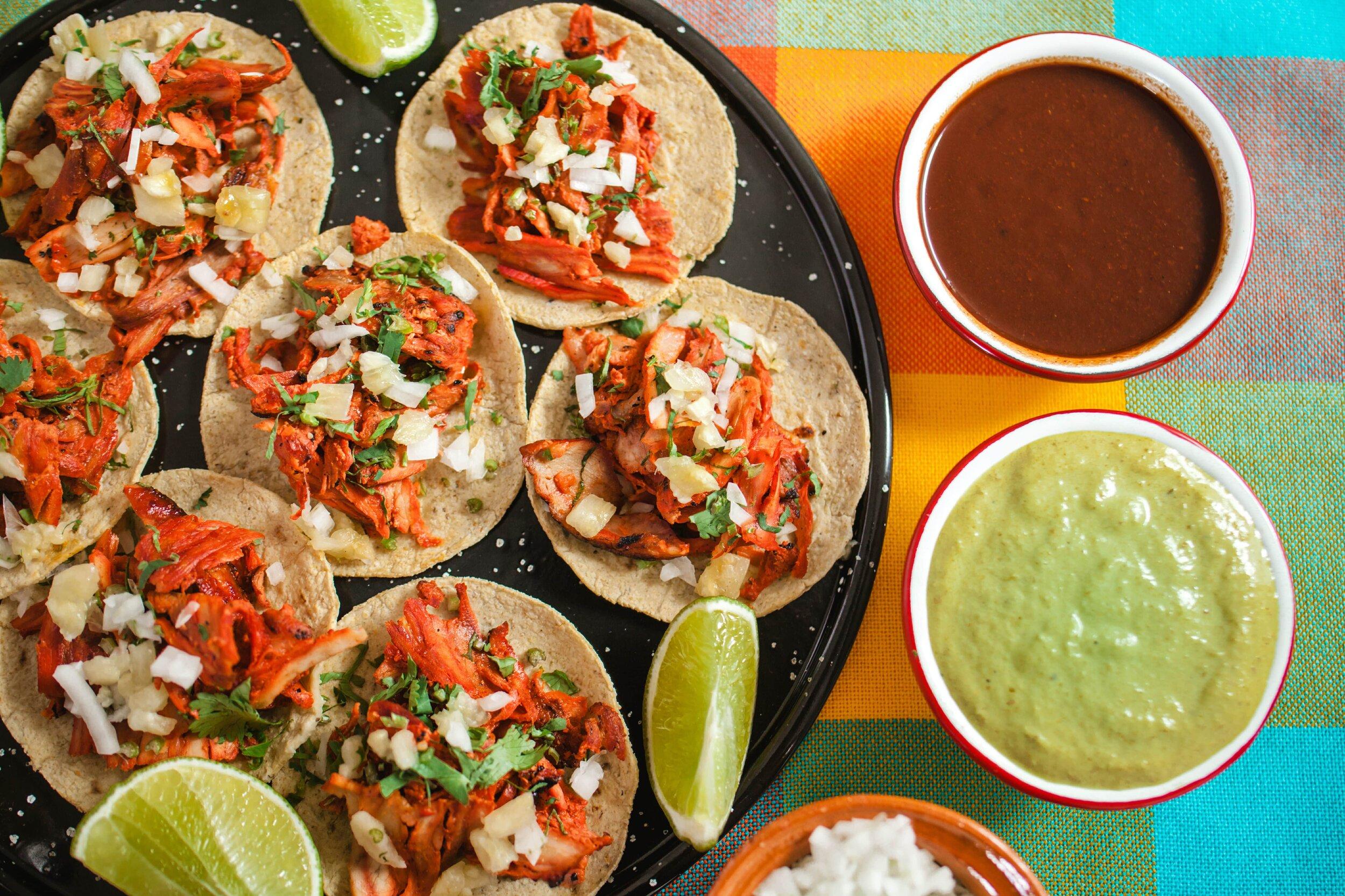 Mexico City street food.