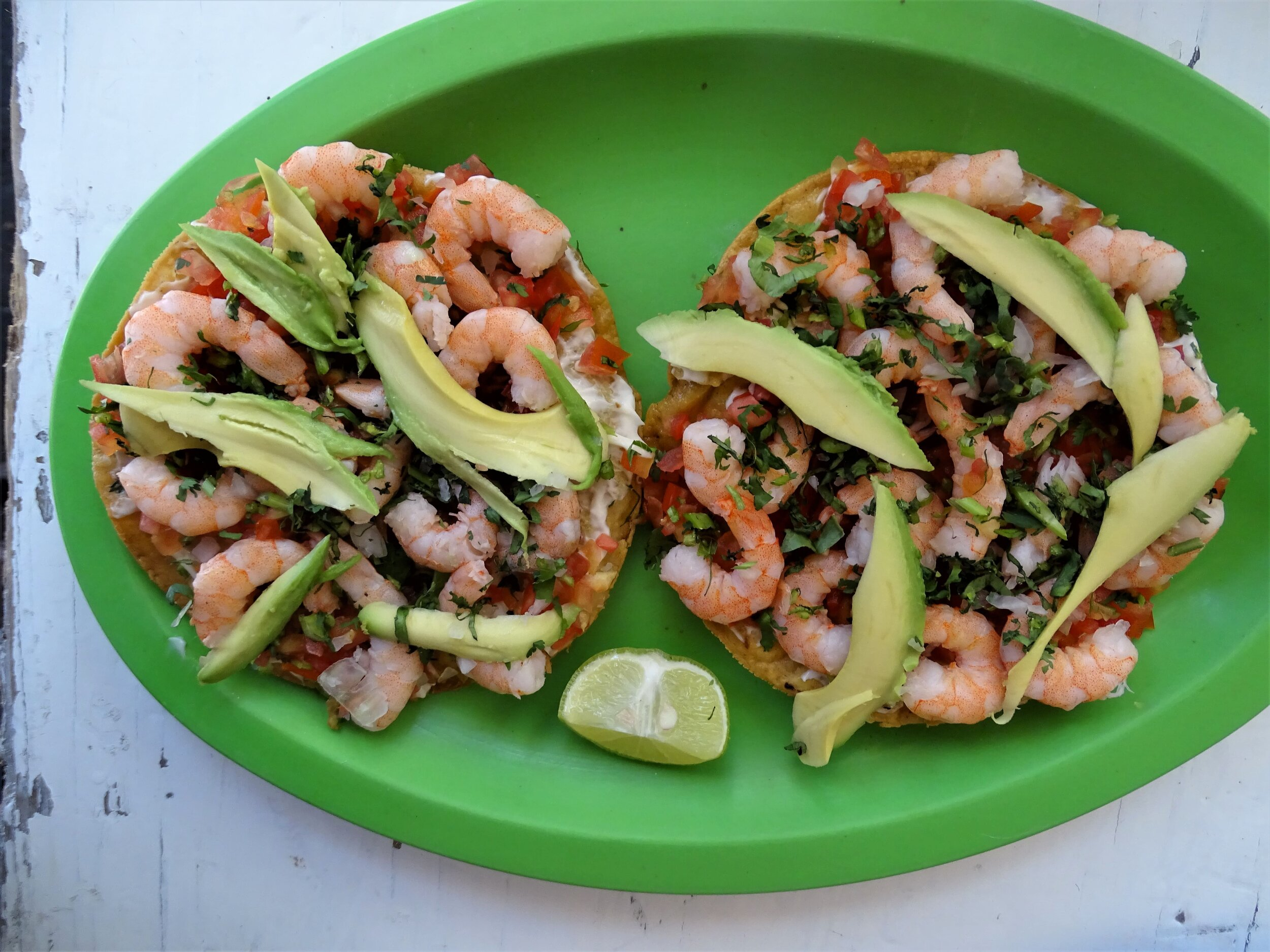Tostadas are one of the most popular foods in Mexico.